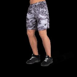 Kansas Shorts Black-Gray Camo