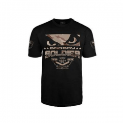 Soldier T-Shirt Black Brown